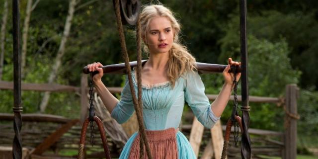 Lily James - Cinderella